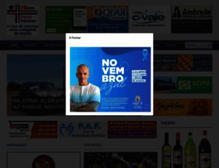 portalpalotina.com.br screenshot