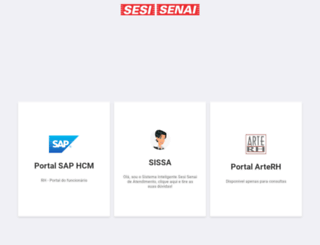 portalrh.sesisenaisp.org.br screenshot