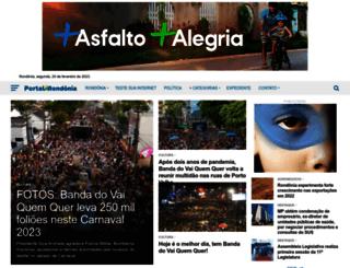 portalrondonia.com screenshot
