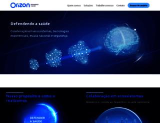 portalservicos.orizonbrasil.com.br screenshot