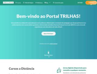 portaltrilhas.org.br screenshot