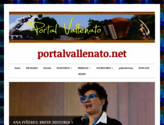 portalvallenato.wordpress.com screenshot