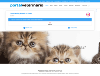 portalveterinario.com screenshot