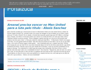 portalzucaa.blogspot.pt screenshot