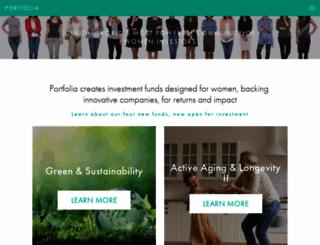 portfolia.com screenshot