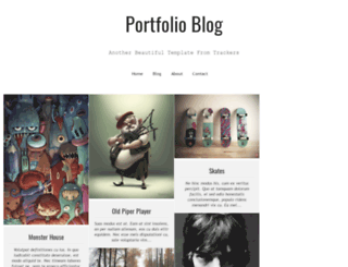 portfolio-blog-trackers.blogspot.in screenshot