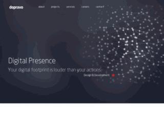 portfolio.dopravo.com screenshot