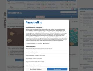 portfolio.finanztreff.de screenshot
