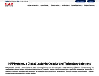 portfolio.mapsystemsindia.com screenshot