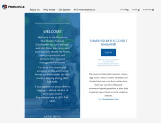 portfolio.primerica.com screenshot