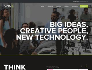 portfolio.spinxwebdesign.com screenshot