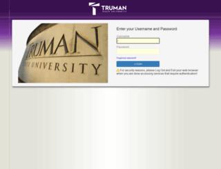 portfolio.truman.edu screenshot