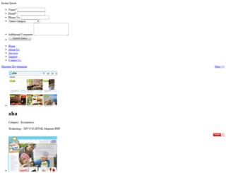 portfolio.unicodesystems.in screenshot