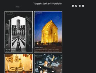 portfolio.yogeshsarkar.com screenshot
