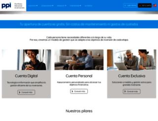 portfoliopersonal.com screenshot