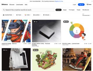 portfolios.artinstitutes.edu screenshot