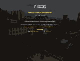 portfolios.uniandes.edu.co screenshot