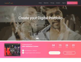 portfolioustad.com screenshot