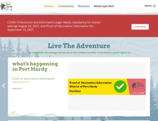 porthardy.ca screenshot