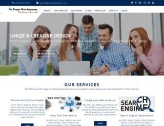 portiawebsolutions.com screenshot