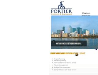 portier.co.uk screenshot