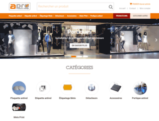 portique-antivol-magasin.fr screenshot