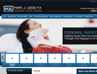 portland-personalinjuryattorney.com screenshot