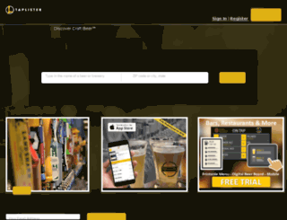 portland.taplister.com screenshot