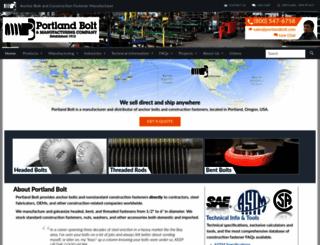 portlandbolt.com screenshot