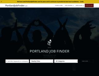 portlandjobfinder.com screenshot