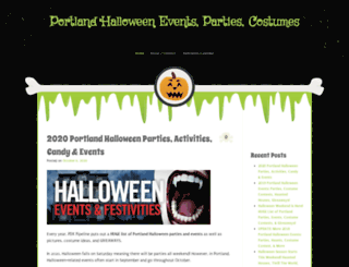portlandoregonhalloween.com screenshot