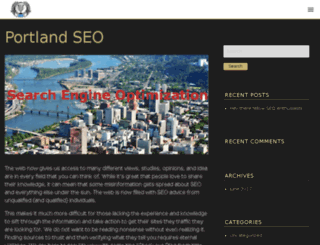 portlandseogroup.com screenshot