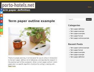 porto-hotels.net screenshot