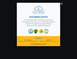 portobellohoteis.com.br screenshot