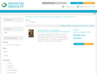 portocidade.anunciosgratis.pt screenshot
