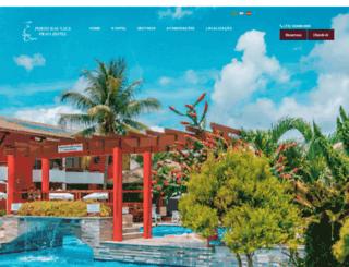 portodasnaus.com.br screenshot