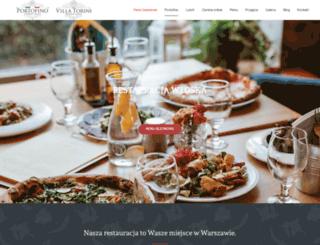 portofino.waw.pl screenshot