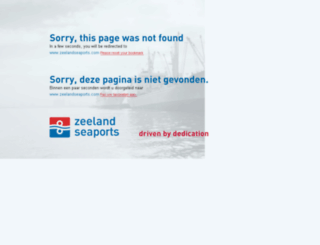 portofzeeland.com screenshot