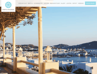 portomykonos.gr screenshot