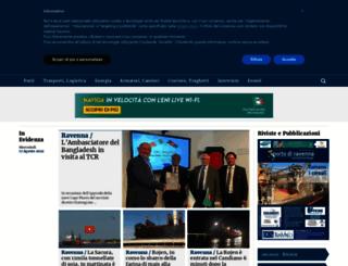 portoravennanews.com screenshot