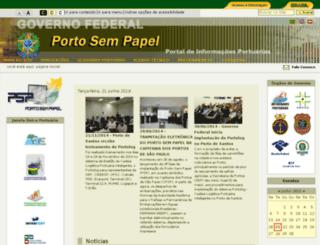 portosempapel.gov.br screenshot