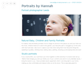 portrait-photographer-leeds.co.uk screenshot