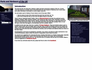 ports.org.uk screenshot