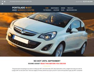 portslademotcentre.com screenshot