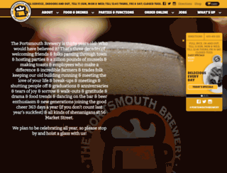 portsmouthbrewery.com screenshot