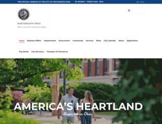 portsmouthoh.org screenshot