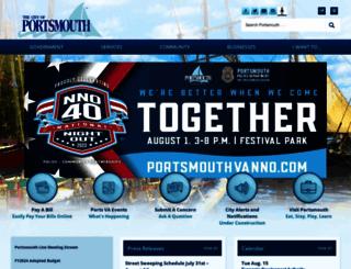 portsmouthva.gov screenshot