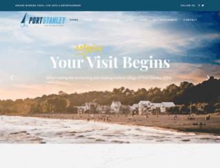 portstanley.net screenshot