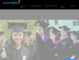 porttrust.ucanapply.com screenshot