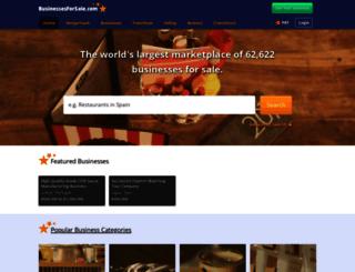 portugal.businessesforsale.com screenshot